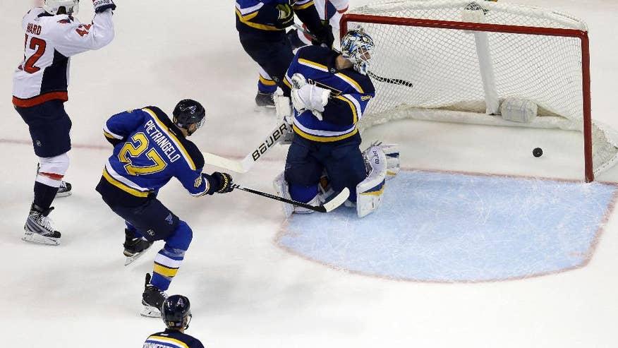 Hockey goal score