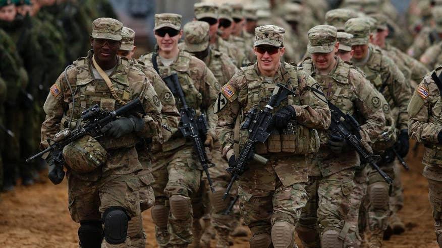USA jsou připraveny poslat do východní Evropy více než čtyři tisíce vojáků