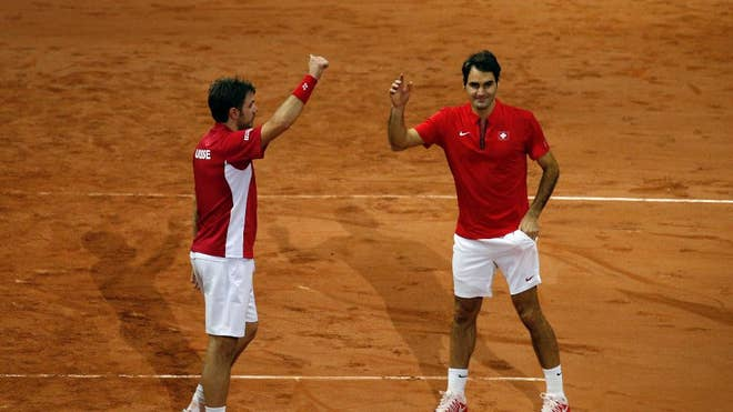 Switzerland captain Severin Luthi's decision to hire Bob and Mike Bryan's coach to help his team prepare for the Davis Cup final doubles match proved to be a masterstroke.