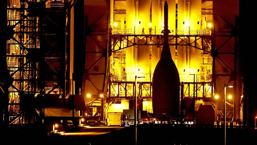 NASA launching new Orion spacecraft on test flight, Thursday debut paving way for Mars visits