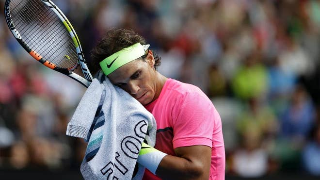 Rafael Nadal kept telling anyone who would listen that his fitness levels wouldn't stand up to the rigors of a two-week Grand Slam tournament.