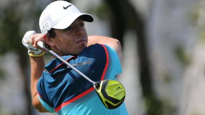 An unrelenting Rory McIlroy secured his second Dubai Desert Classic title in six years with a -under  in the final round to win by three shots on Sunday.