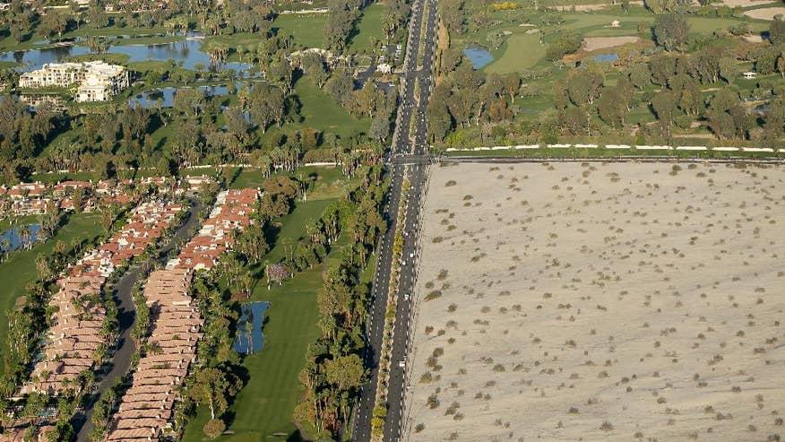 Catedral city - California, il deserto che avanza (http://www.foxnews.com/us)
