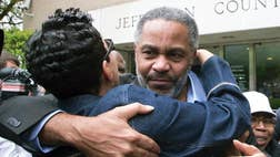 In his first day free, after nearly  years on Alabama's death row, Ray Hinton said he kept asking a question to his childhood friend.