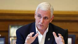 Indiana Gov. Mike Pence's decision not to fulfill the political buzz and chase White House dreams in 2016 doesn't necessarily clear up questions about his future.<br /><br />Facebook<br /><br />Twitter<br /><br /><img alt=