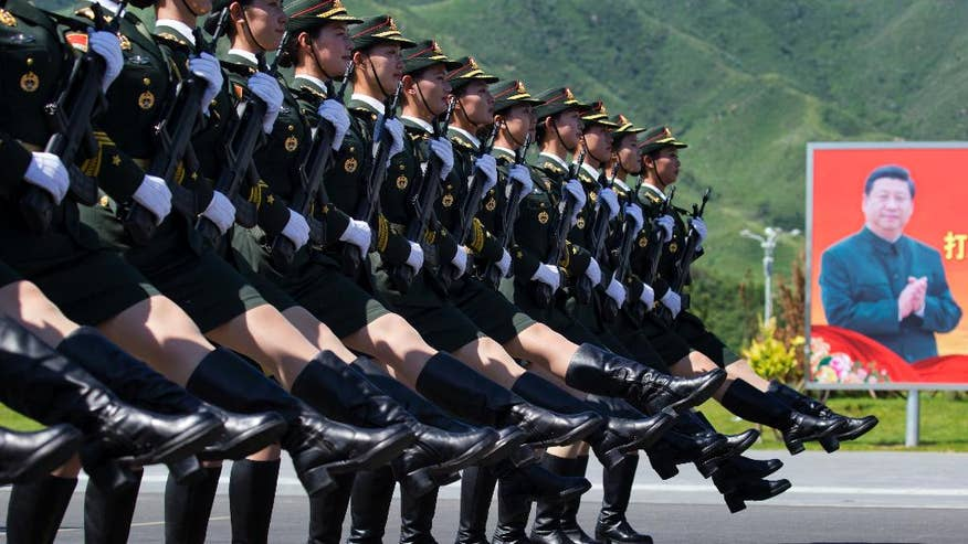 China cuts 300,000 military personnel