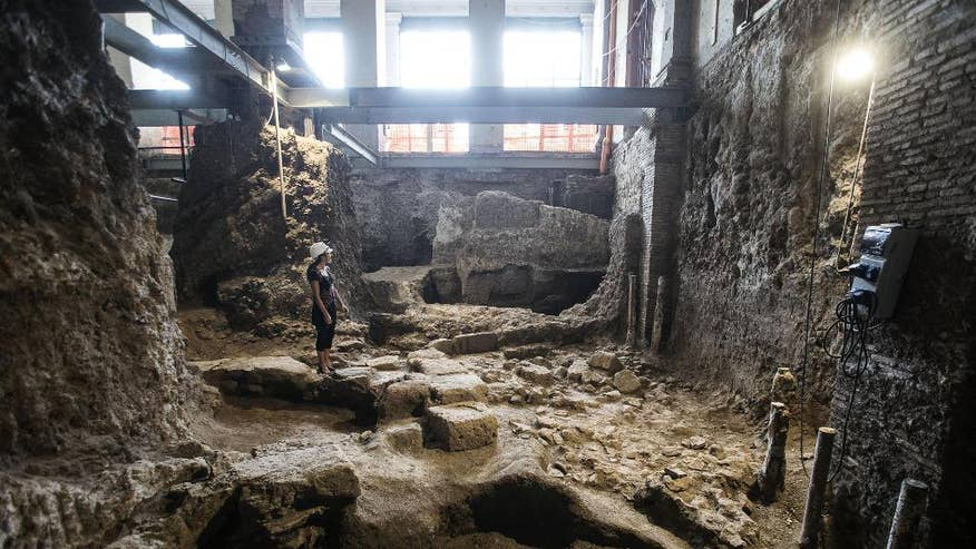 Excavation of Rome home shows ancient city bigger than thought