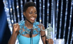 People magazine has named Lupita Nyong'o as the World's Most Beautiful for .