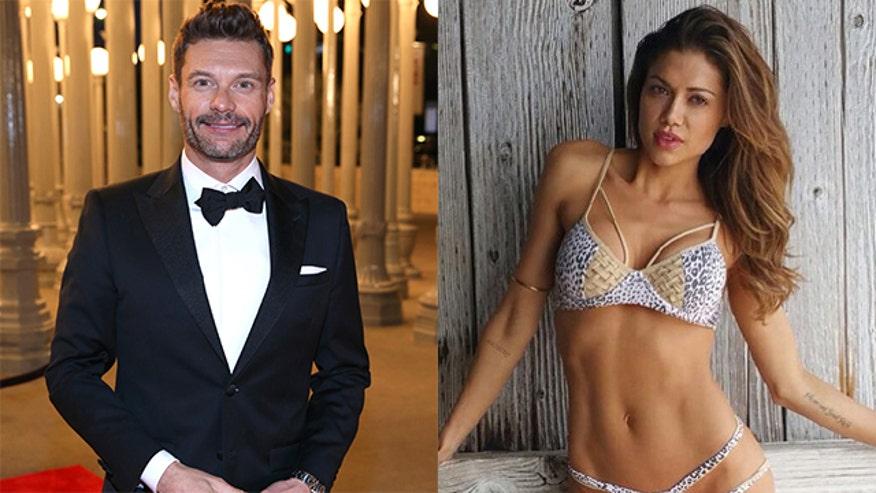 Ryan Seacrest Dating Adriana Lima: Hot Victoria's Secret Model Hooks ...