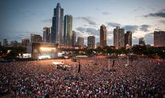 A -year-old Chicago man is accused of biting two men in a seemingly random attack as the Arctic Monkeys performed at Lollapalooza earlier this month.