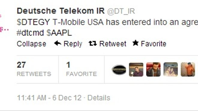 Apple-T-Mobile-Agreement-Tweet