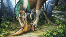 Secret structures hidden within the serrated teeth of Tyrannosaurus rex and other theropods helped the fearsome dinosaurs tear apart their prey without chipping their pearly whites, a new study finds