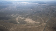 Huge stone circles in the Middle East have been imaged from above, revealing details of structures that have been shrouded in mystery for decades