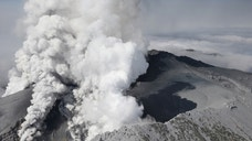 The eruption at Japan's Mount Ontake volcano caught hikers by surprise this weekend. More than  people were exploring shrines and resorts at the ,-foot-high peak, the country's second-tallest volcano.