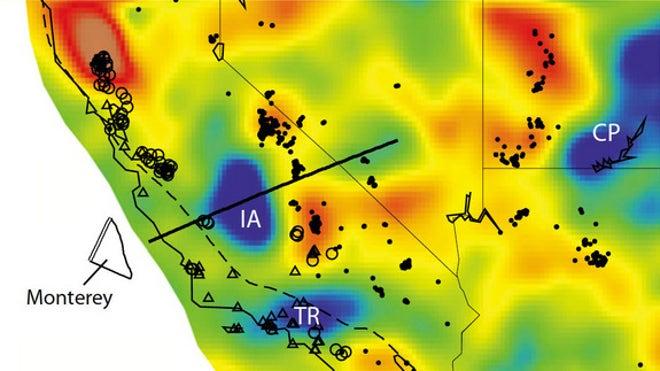 'Lost' tectonic plate found beneath California