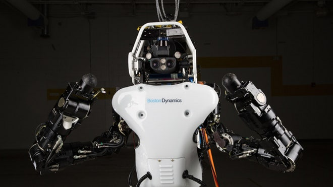 What do you call a robot that can drive a car, break down walls and scale buildings? Hint: It's not The Terminator. This super-capable bot's name is Atlas, and it was created to save lives, not destroy them