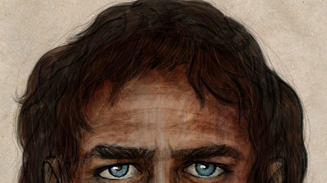 Ancient Europeans: dark skinned, blue eyed?