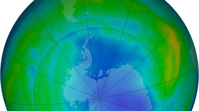 Antarctic ozone hole hits 2013 peak size
