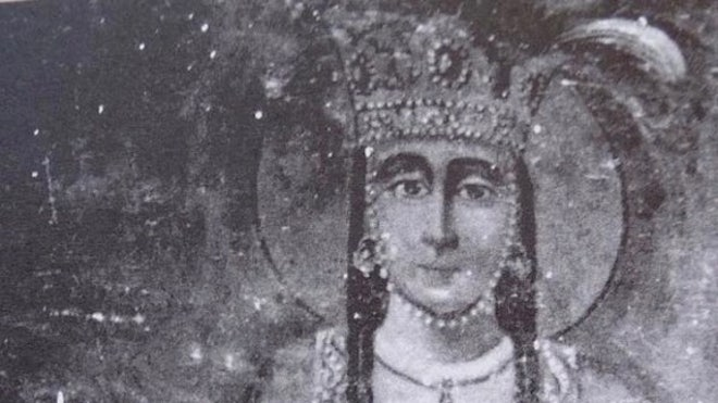 'Lost' remains of martyred queen unearthed