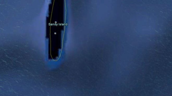 How a fake island landed on Google Earth