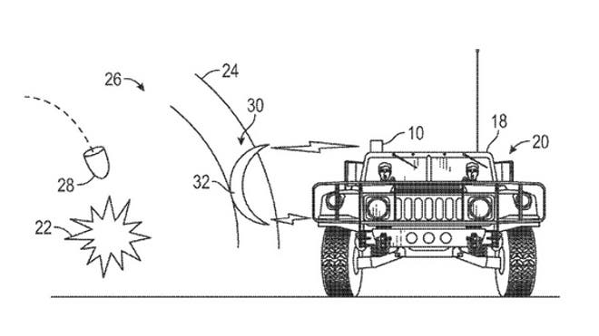 A researcher at the defense company Boeing has filed a patent for a sci-fi-esque cloaking device that would protect soldiers from intense shock waves generated by explosions.