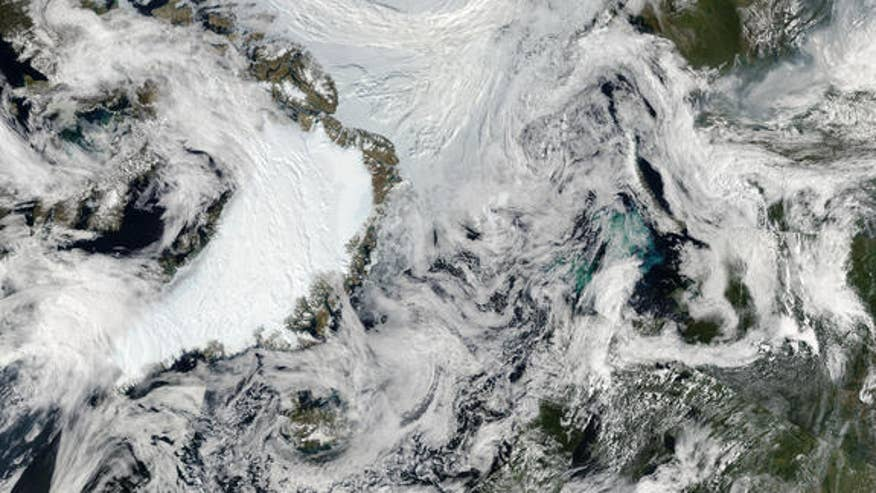 Surf's up in the Arctic: Record-high waves seen in 2012