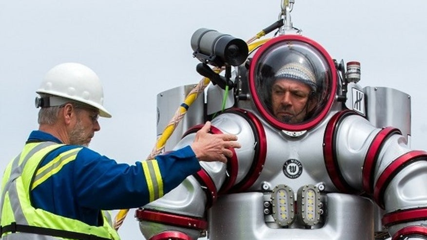 'Exosuit' mission to 2,000-year-old shipwreck begins