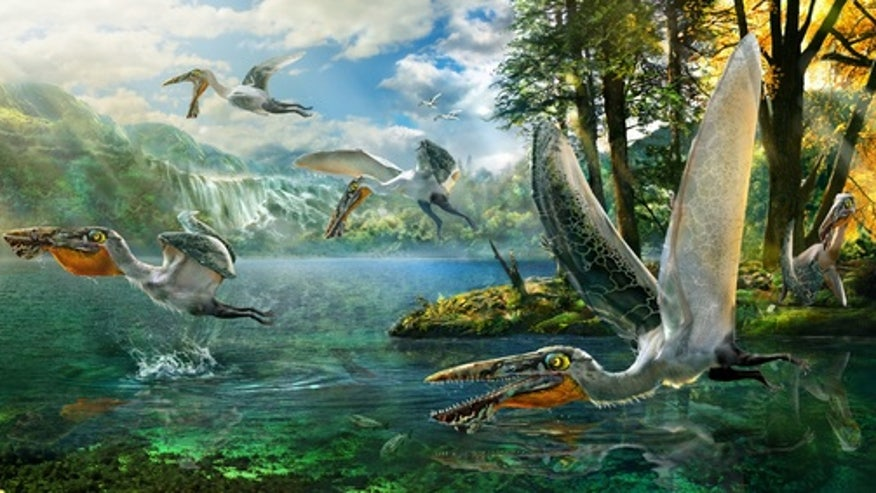 Ancient 'dragon' beast flew right out of 'Avatar'