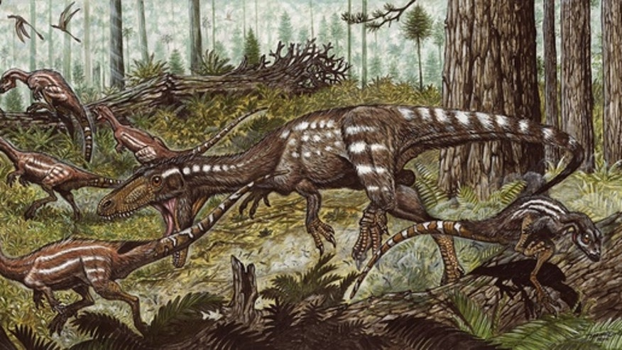 Newfound South American predator snacked on little dinosaurs
