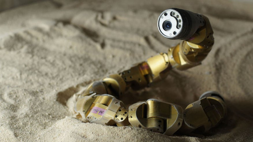 Snake robots! Slithering machines could aid search-and-rescue efforts