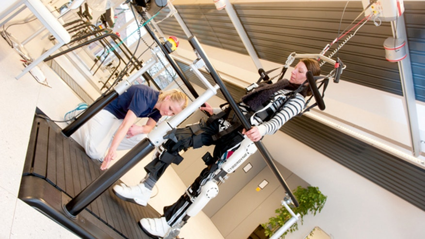 Bionic exoskeleton could help paralyzed patients walk