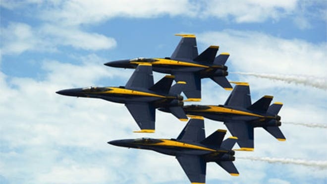 After a year's absence, The Blue Angels return to the skies of Northeast Florida this weekend for the NAS Jax Air Show.