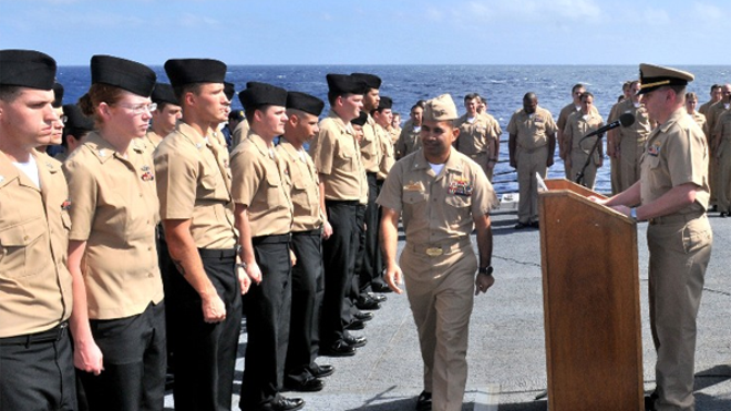 Military.com sends out a hearty quotBZquot to those E-, E- and E- Sailors who have recently been advanced to Petty Officer.