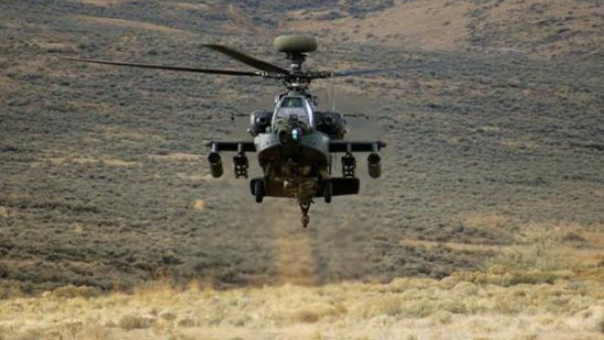 Commander: Army's New AH-64E Apache Surprised Enemy in Afghanistan11058
