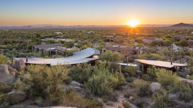 The Scorpion House will sting your wallet for $.M. Built in , this home named after a predator was designed to be harmonious with its surroundings. The post A Desert Delight, the Scorpion House in Scottsdale Packs a $.M Sting appeared first on Real Estate News a
