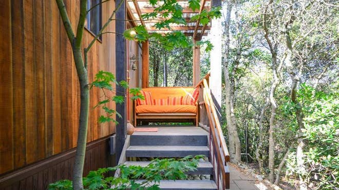 This .-acre property listed for $. million in Glen Ellen, CA, was lovingly nurtured by the sellers, who bought the once-barren land about  years ago. The post Tranquility in the Hills: Tiny House Among the Trees in Sonoma County appeared first on Real Estate News and Advice - realtor.com.