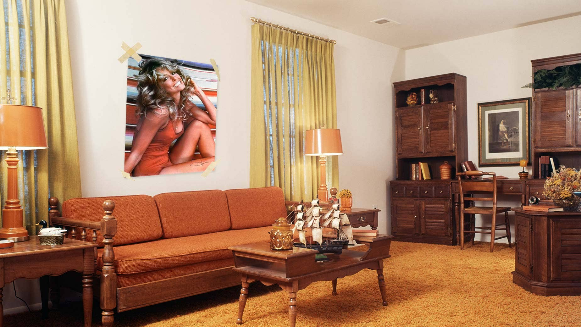 Worst home decor ideas of the 1970s fox news for 70s living room furniture
