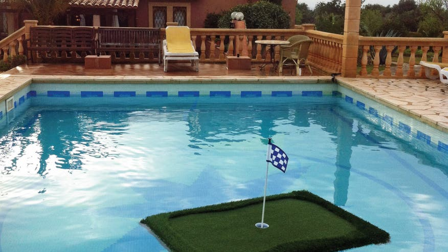 7 cool pool accessories that raise the bar on summer fun for Pool floats design raises questions