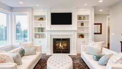 Integrating a TV into the home without sacrificing the decor challenges even the best designers. Here, they offer their pro tips for dealing with the most common debates on TV placement.  The post The Oddly Controversial Debate of Where to Put Your TV -- Resolved! appeared first on Real Estate News and Advice - realtor.com.