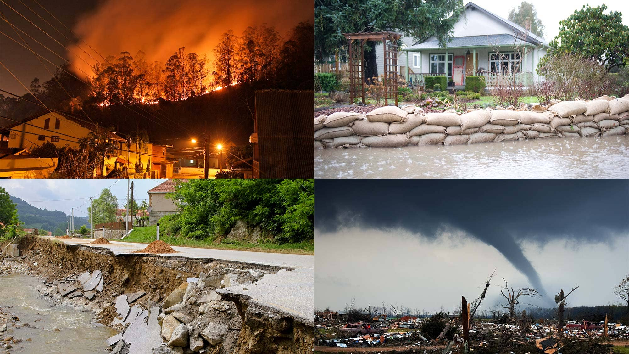 Natural Disasters Video Clips