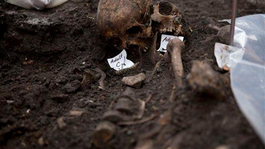 Evidence uncovered in ancient mystery: skeleton, severed head
