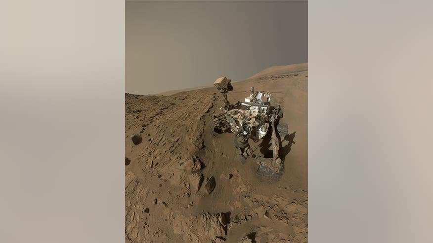 Mars Rover Found Life - Pics about space
