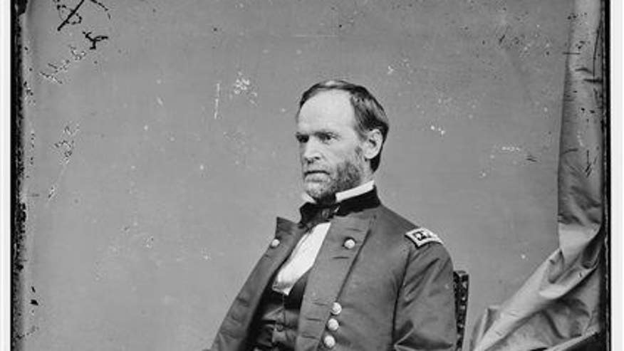 Possibly sitting at bottom of South Carolina river: Gen. Sherman's war spoils