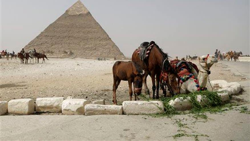 Scientists discover secret of pyramids' construction