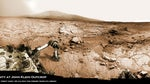 Three spectacular new panoramas give an eye-popping look at NASA's Mars rover Curiosity hard at work on the Red Planet.