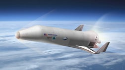 The world is starting to get a better idea of what the U.S. military's proposed new space plane might look like.