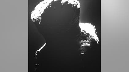 For a long five and a half years, Comet P/Churyumov–Gerasimenko's southern side has been shrouded by darkness.