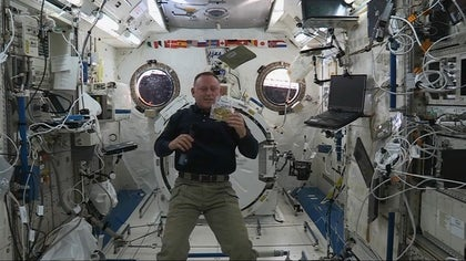 Like most Americans back on the ground, astronauts aboard the International Space Station will celebrate Thanksgiving with a feast: NASA food scientists have created zero-g versions of classic Thanksgiving dishes for this week's celebration.