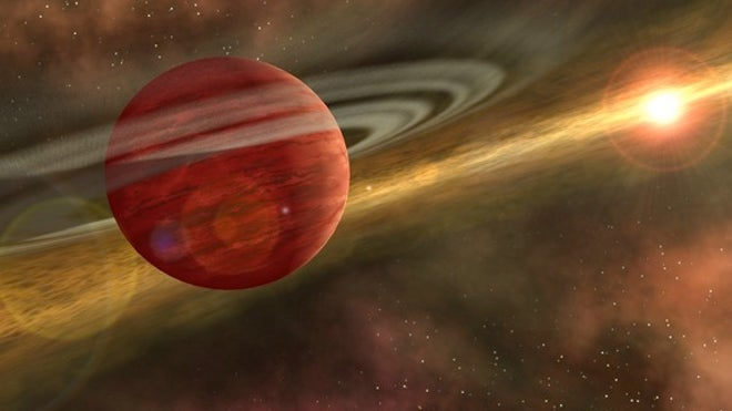 Alien planet 11 times bigger than Jupiter found in bizarre, massive orbit