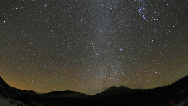 meteor shower june 2013